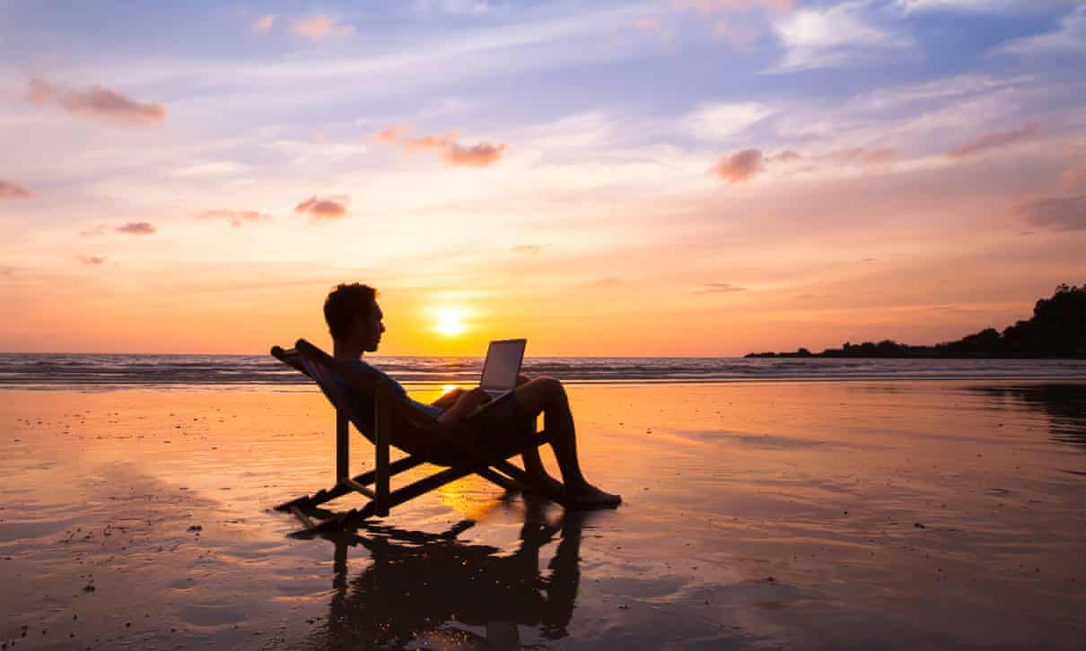 Fancy working in paradise? Here's how you can live the dream | The Observer