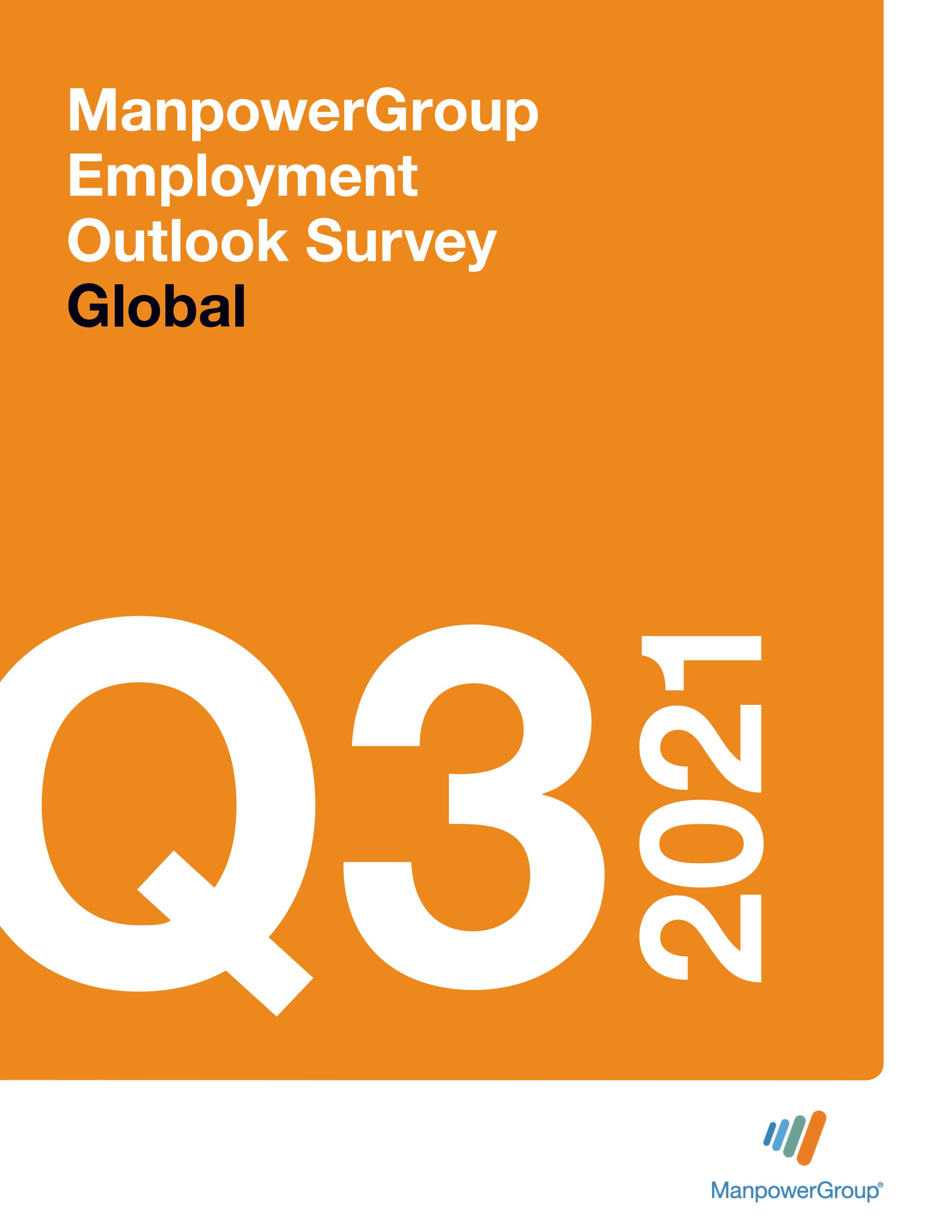 Q3 2021 Employment Outlook Survey Global   ManpowerGroup