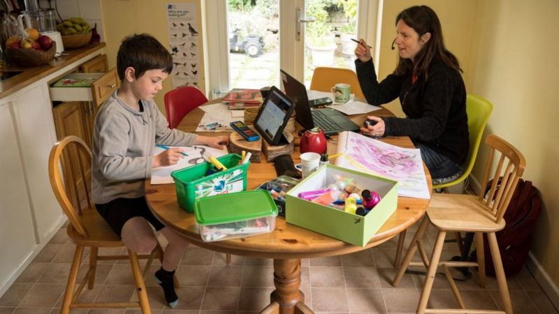 Working from home: The rise of the DIY office | BBC News
